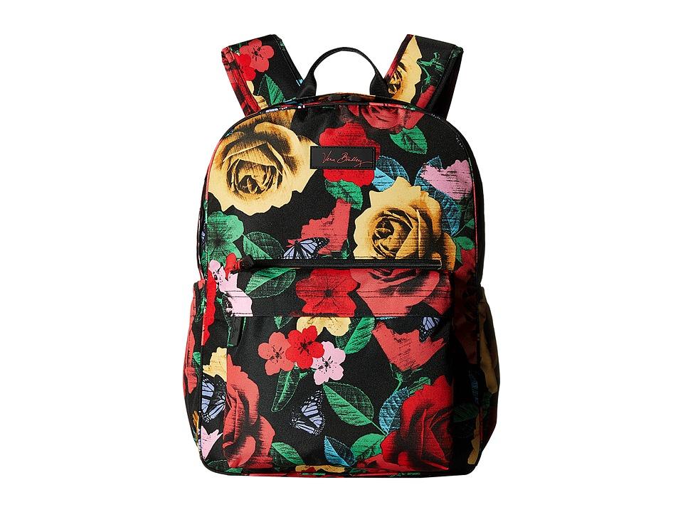 Vera Bradley Lighten Up Grande Laptop Backpack (Havana Ro...