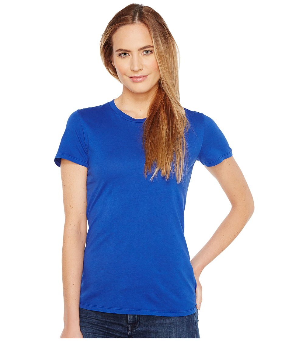 Mod-o-doc - Fitted Short Sleeve Crew (Ocean) Womens Clothing