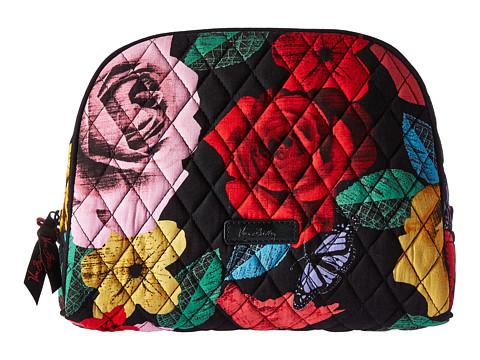 Vera Bradley Luggage Large Zip Cosmetic - Havana Rose