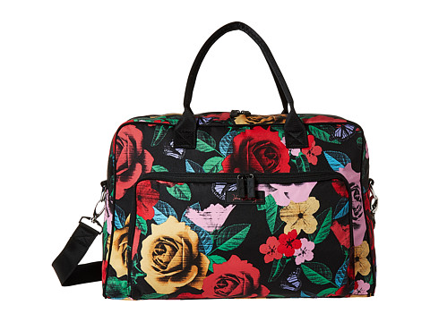 Vera Bradley Luggage Lighten Up Weekender - Havana Rose