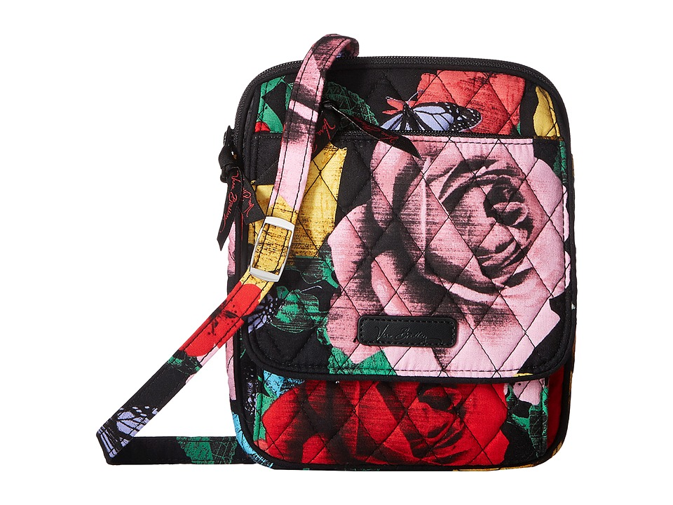 Vera Bradley Mini Hipster (Havana Rose) Cross Body Handbags
