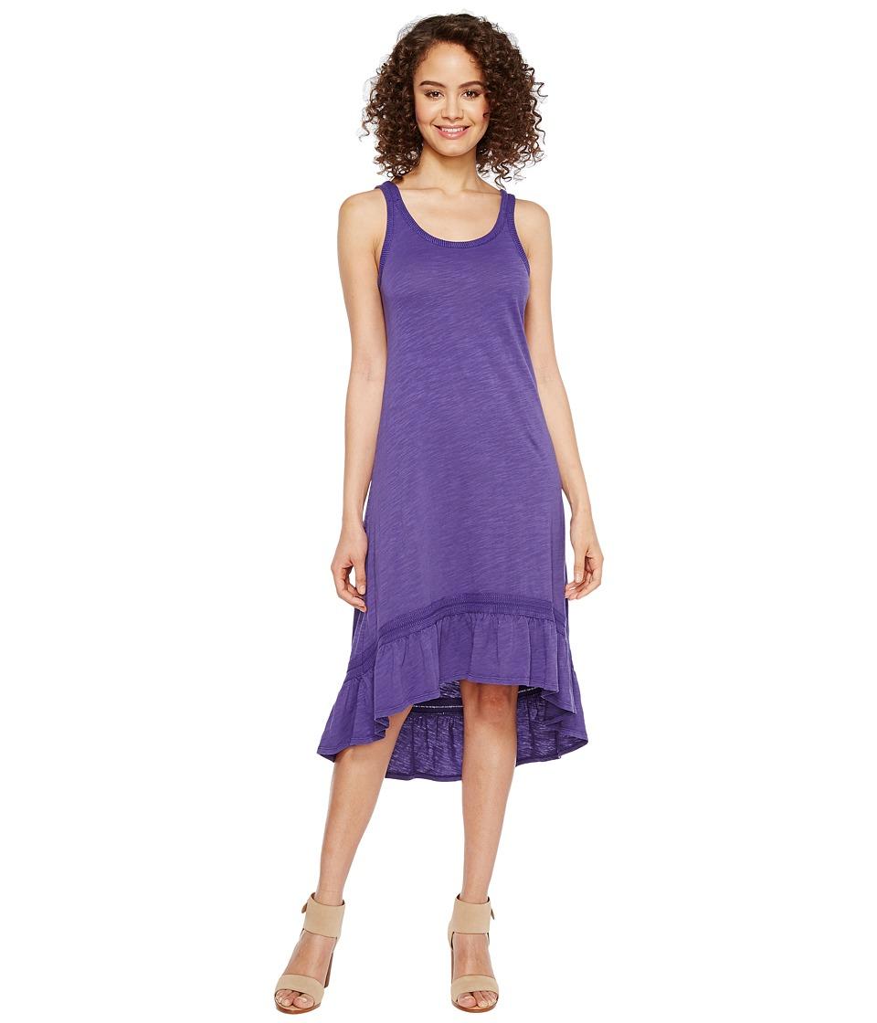 Mod-o-doc Slub Jersey Hi-Low Strappy Dress (Napa) Women