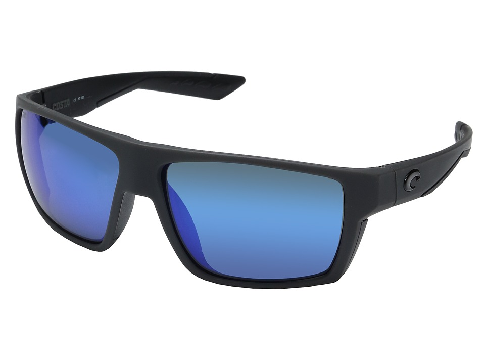 Costa Bloke (Matte Gray/Matte Black Frame/Blue Mirror Gla...