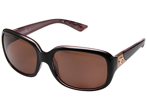 Costa Gannet - Shiny Black Hibiscus Frame/Copper 580P