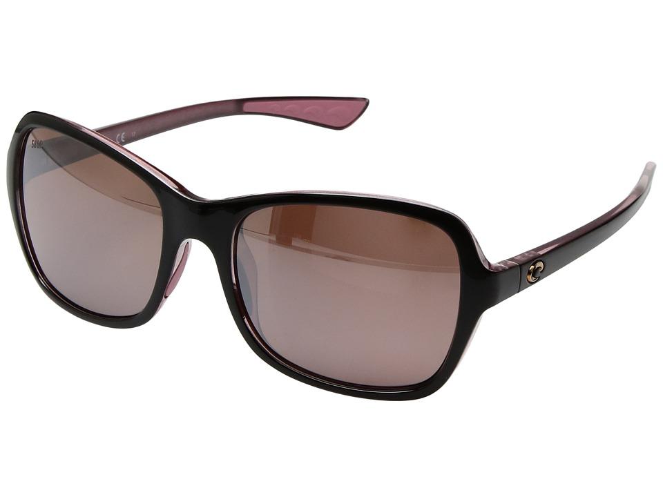 Costa Kare (Shiny Black Hibiscus Frame/Silver Mirror 580P...
