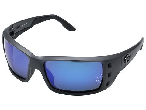 Costa Permit - Matte Gray Frame/Blue Mirror Glass W580