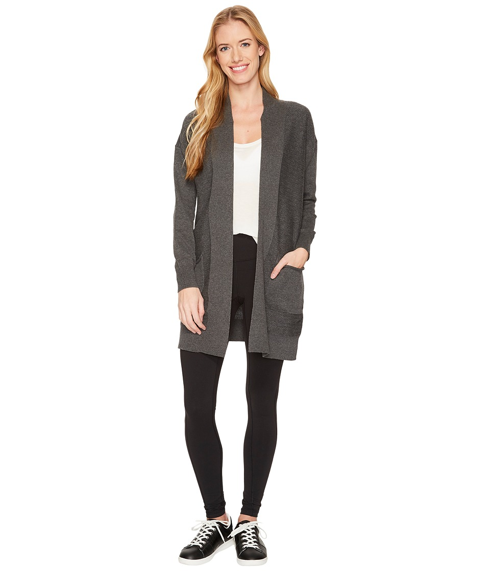 Lole Marnie Cardigan Cover-Up (Dark Grey Heather) Women