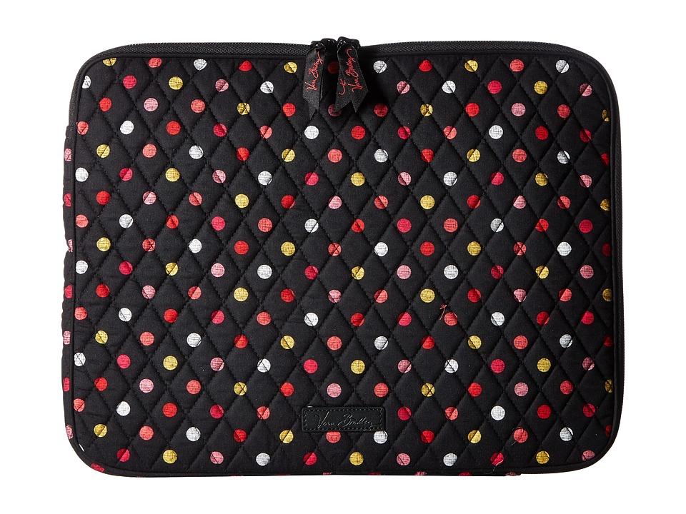 Vera Bradley Laptop Sleeve (Havana Dots) Computer Bags