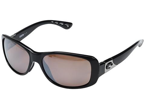 Costa Tippet 580 Plastic - Black Frame/Silver Mirror 580P