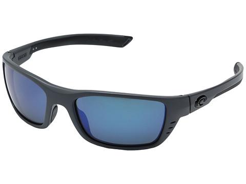 Costa Whitetip - Matte Gray Frame/Blue Mirror Glass W580