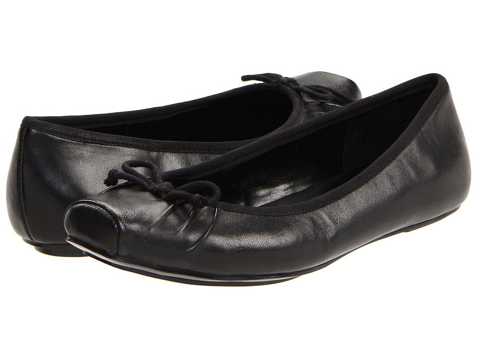 Jessica Simpson Leve (Black Western Leather) Flats