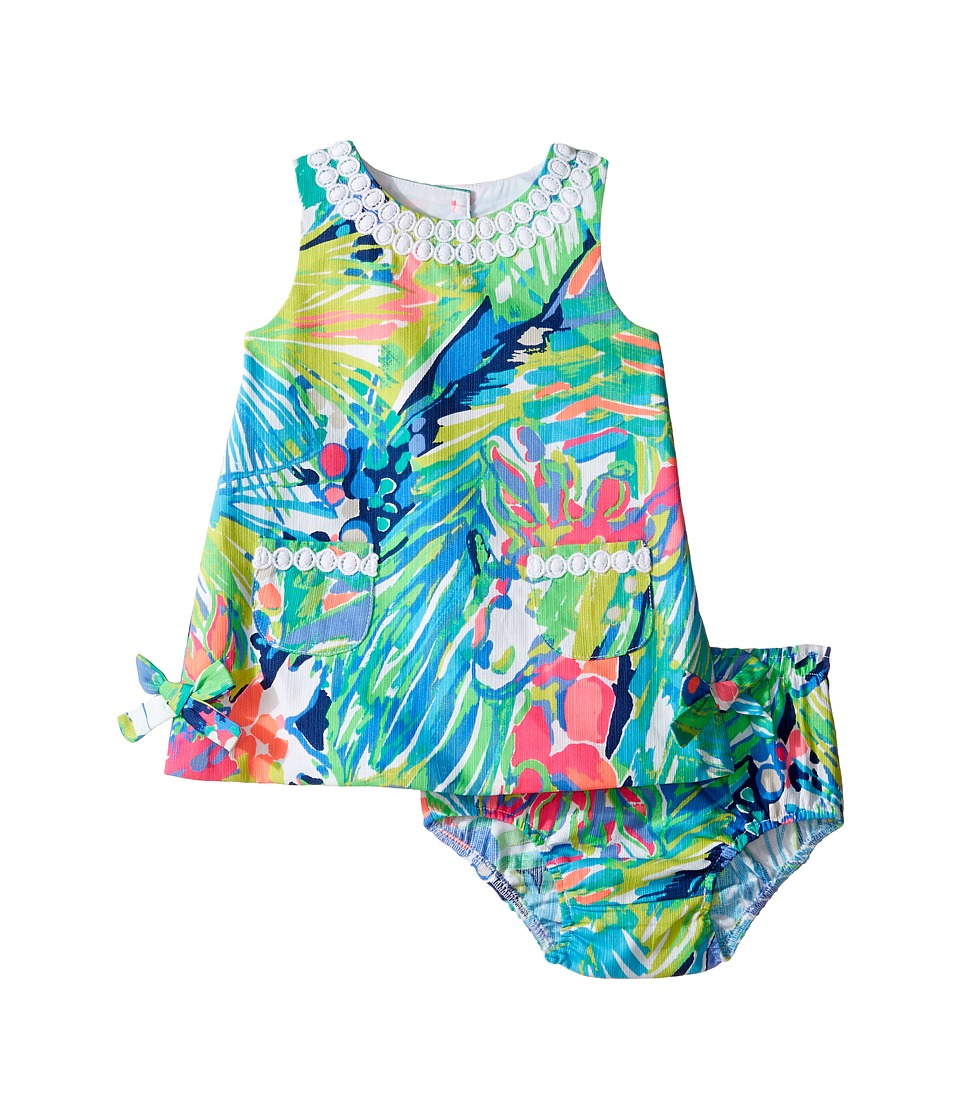 Lilly Pulitzer Kids Baby Lilly Shift (Infant) (Multi Purrfect) Girl