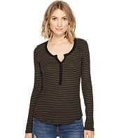 Three Dots - Faux Henley