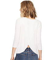 Three Dots - Split Back Top