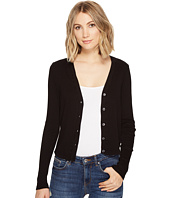 Three Dots - Cropped Cardigan