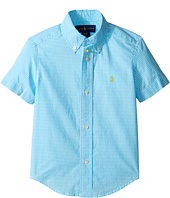 Polo Ralph Lauren Kids - Poplin Short Sleeve Button Down Shirt (Toddler)