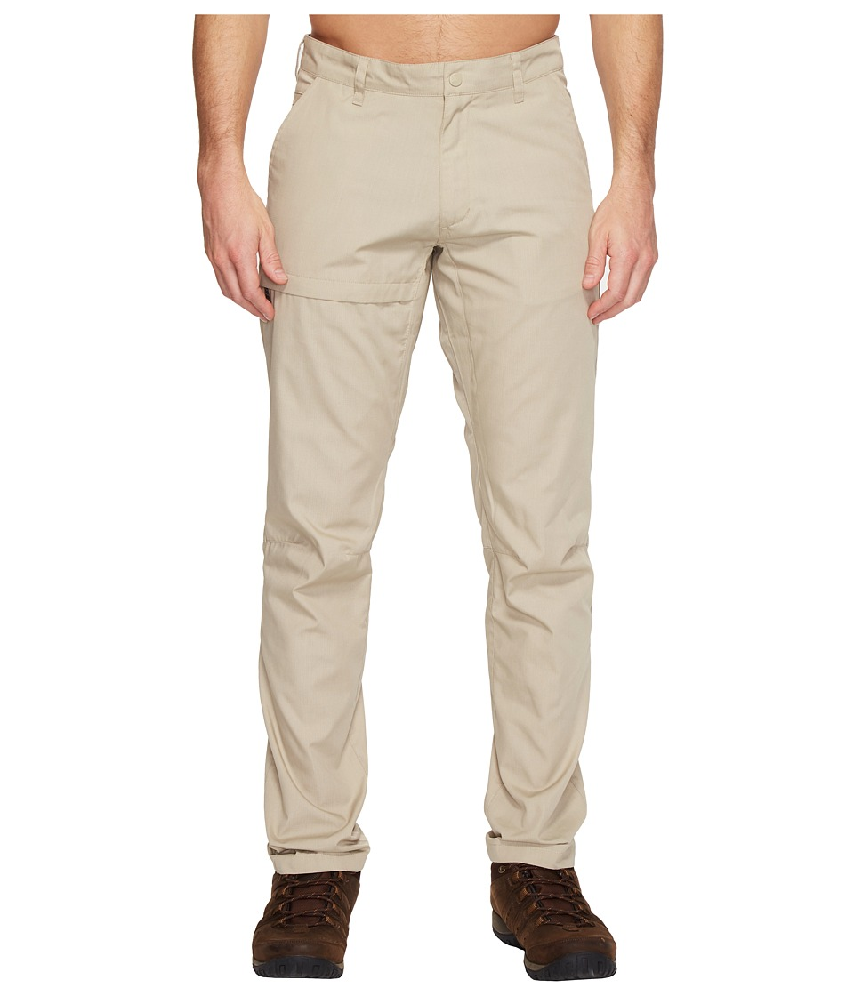 Fjallraven - Travellers Trousers (Limestone) Mens Casual Pants