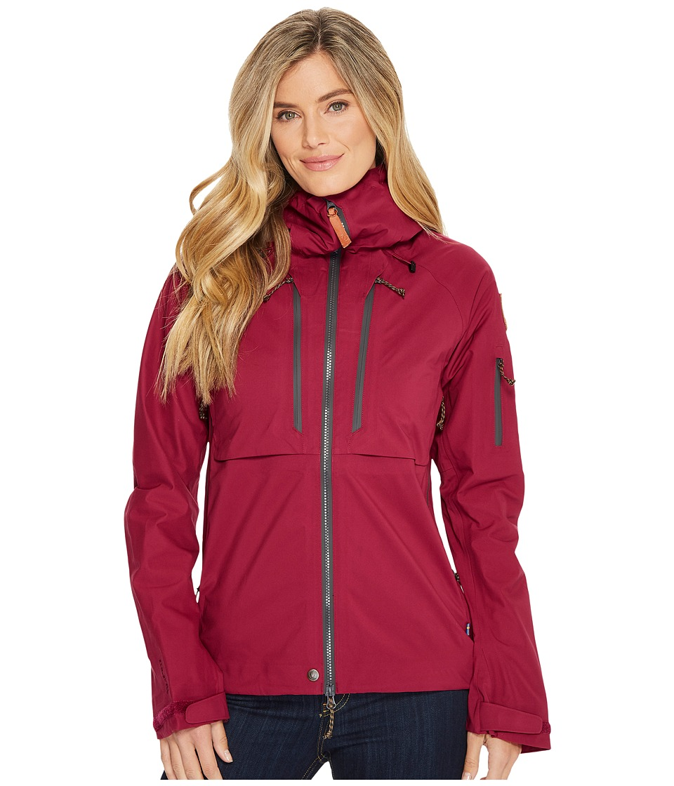 Fjallraven Keb Eco-Shell Jacket W (Plum) Women