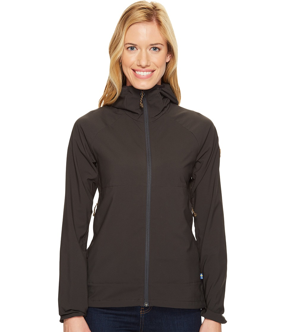 Fjallraven Abisko Hybrid Breeze Jacket (Dark Grey) Women