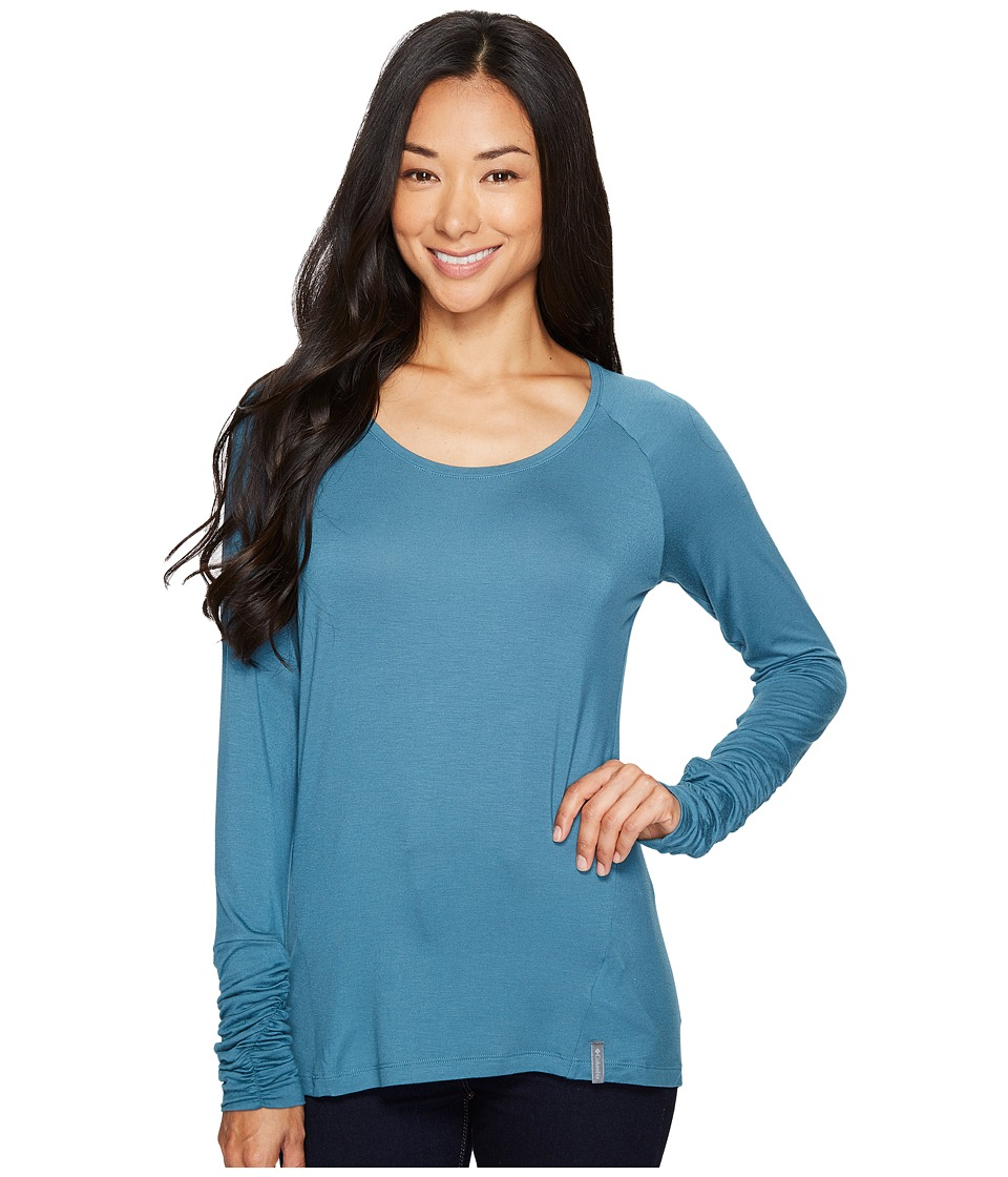 Columbia Lumianation II Long Sleeve Shirt (Cloudburst) Women