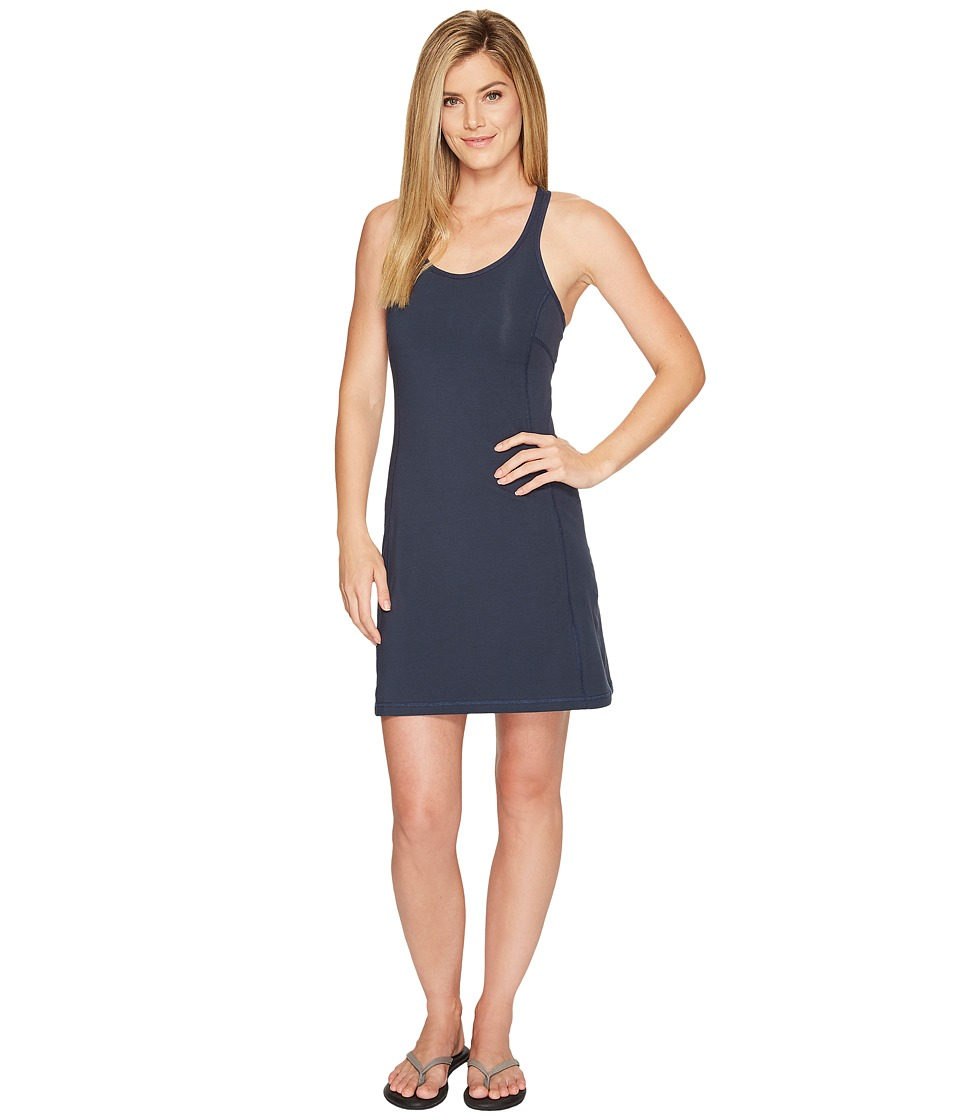 Fjallraven - High Coast Strap Dress (Navy) Womens Dress