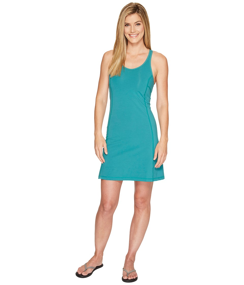Fj llr ven High Coast Strap Dress (Copper Green) Women