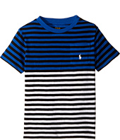 Polo Ralph Lauren Kids - Yarn-Dyed Slub Jersey Pocket Tee (Toddler)