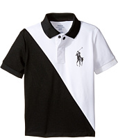 Polo Ralph Lauren Kids - Tech Mesh Banner Polo (Toddler)