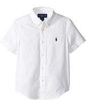 Polo Ralph Lauren Kids - Performance Oxford Short Sleeve Button Down Shirt (Little Kids/Big Kids)