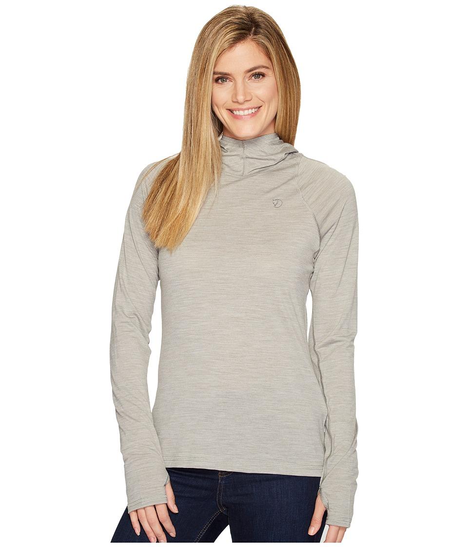 Fjallraven - High Coast Lite Hoodie (Fog) Womens Sweatshirt