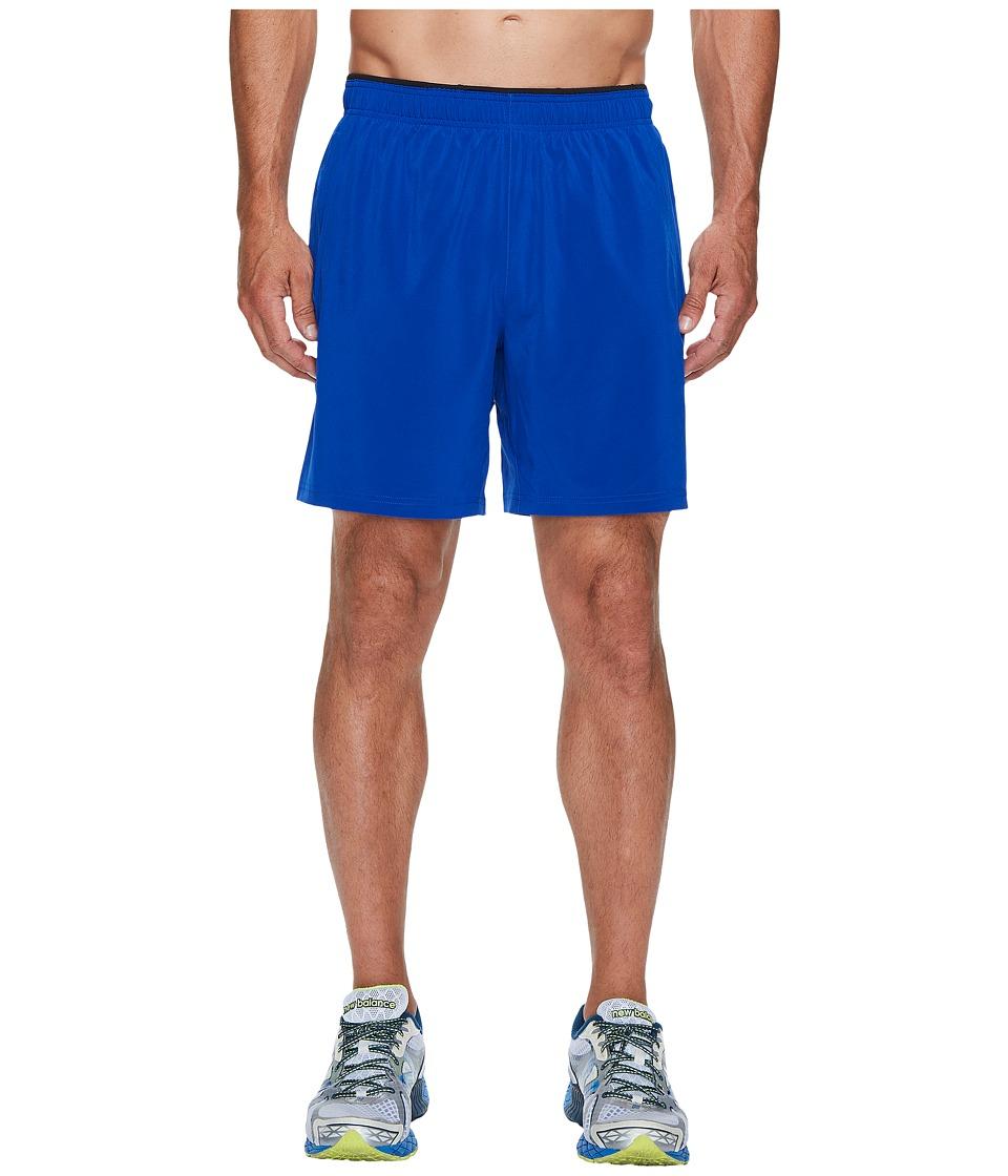 New Balance Woven 2-in-1 Shorts (Team Royal/Black) Men