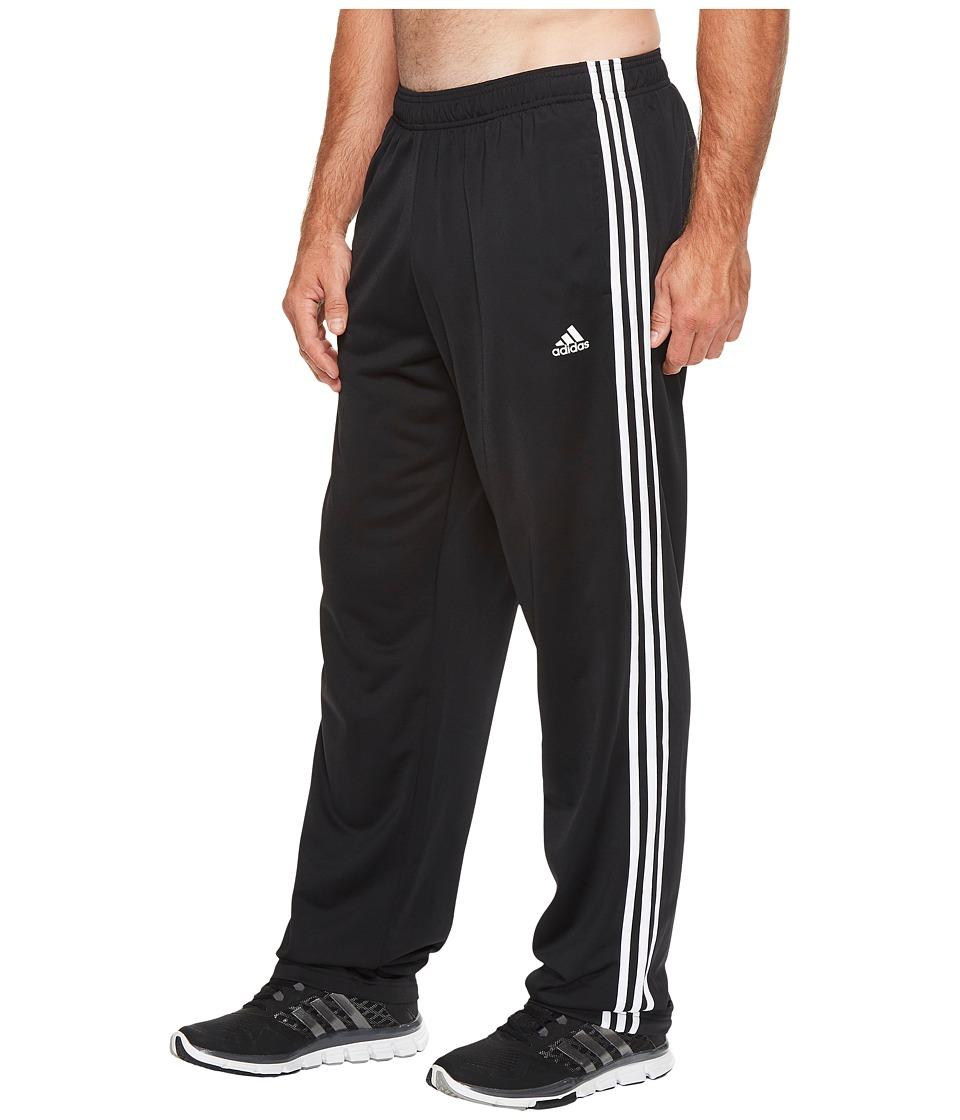 Adidas Big Tall Essentials 3-Stripes Regular Fit Tricot P...