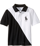 Polo Ralph Lauren Kids - Tech Mesh Banner Polo (Little Kids/Big Kids)