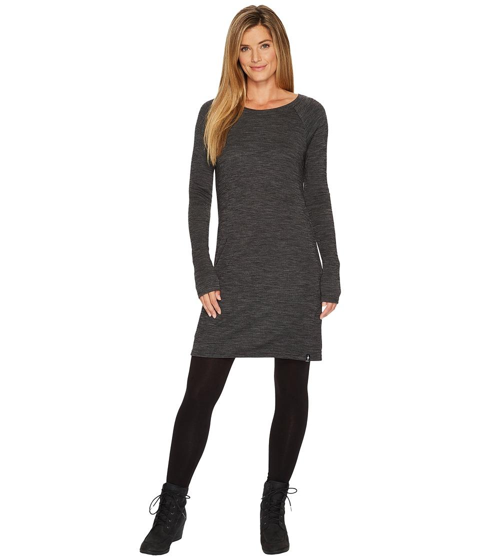 Smartwool Merino 250 Pattern Dress (Black/Light Gray) Women