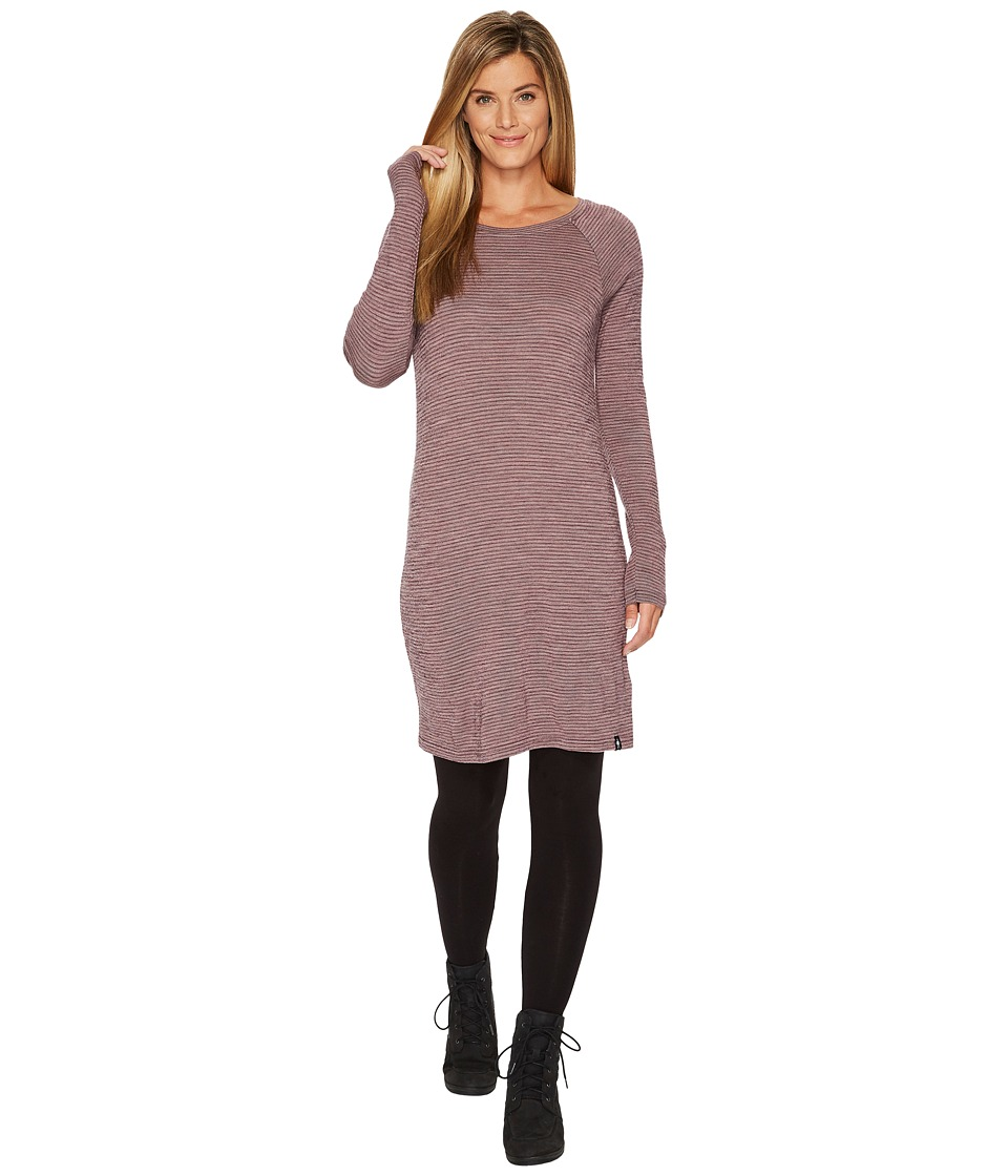 Smartwool Merino 250 Pattern Dress (Bordeaux) Women