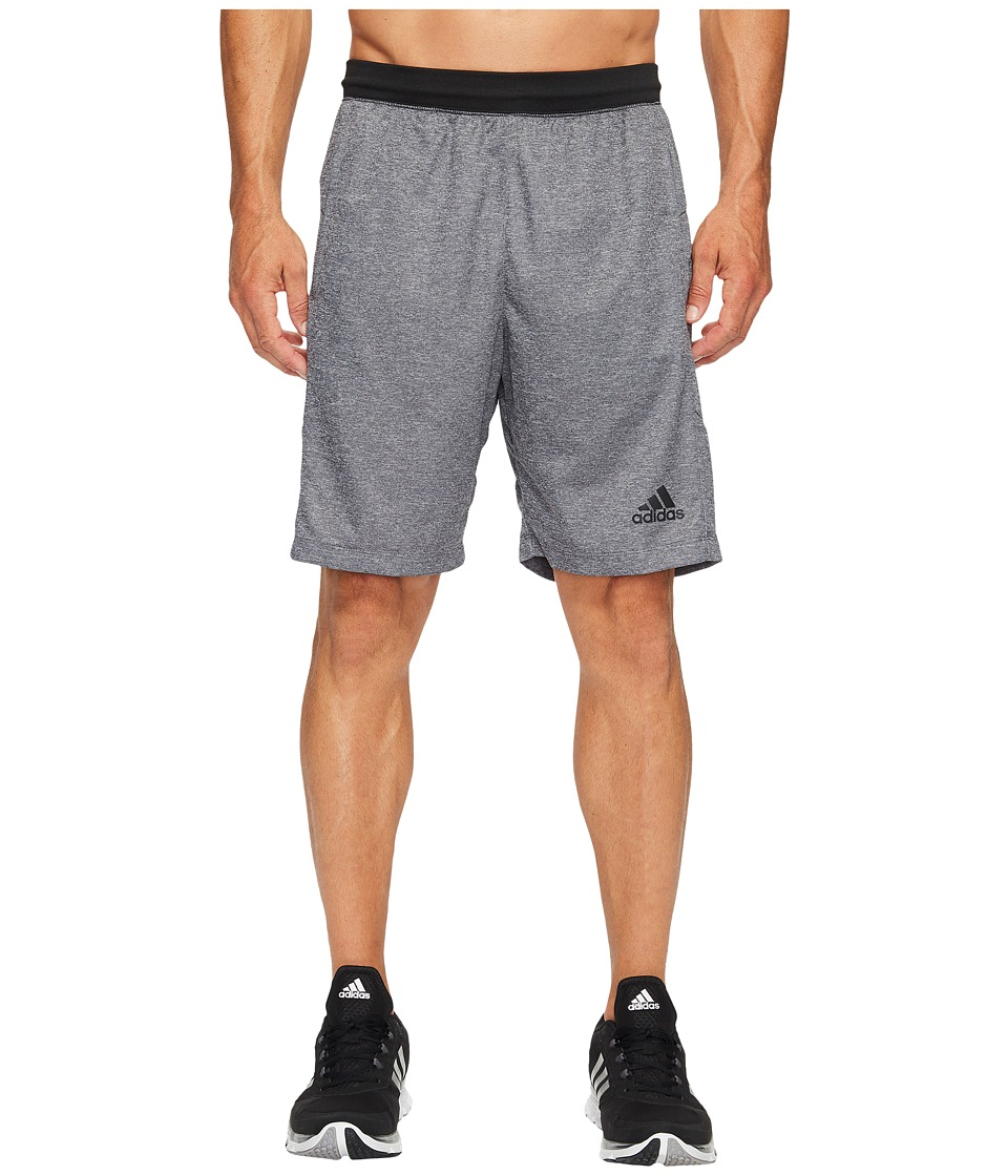 adidas SpeedBreaker Hype Shorts (Dark Grey Heather/Black) Men