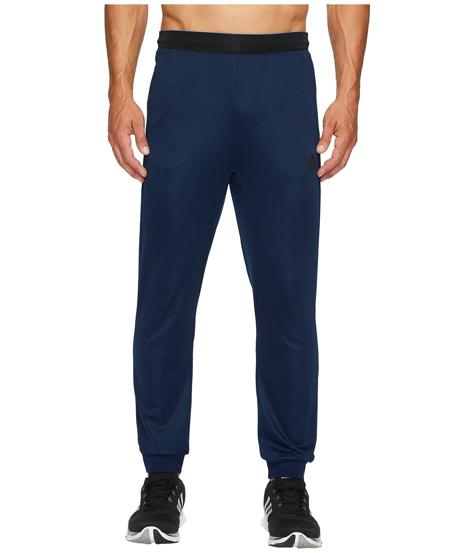 adidas Athlete ID Knit Pants (Collegiate Navy) Men