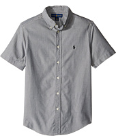 Polo Ralph Lauren Kids - Performance Oxford Short Sleeve Button Down Shirt (Big Kids)