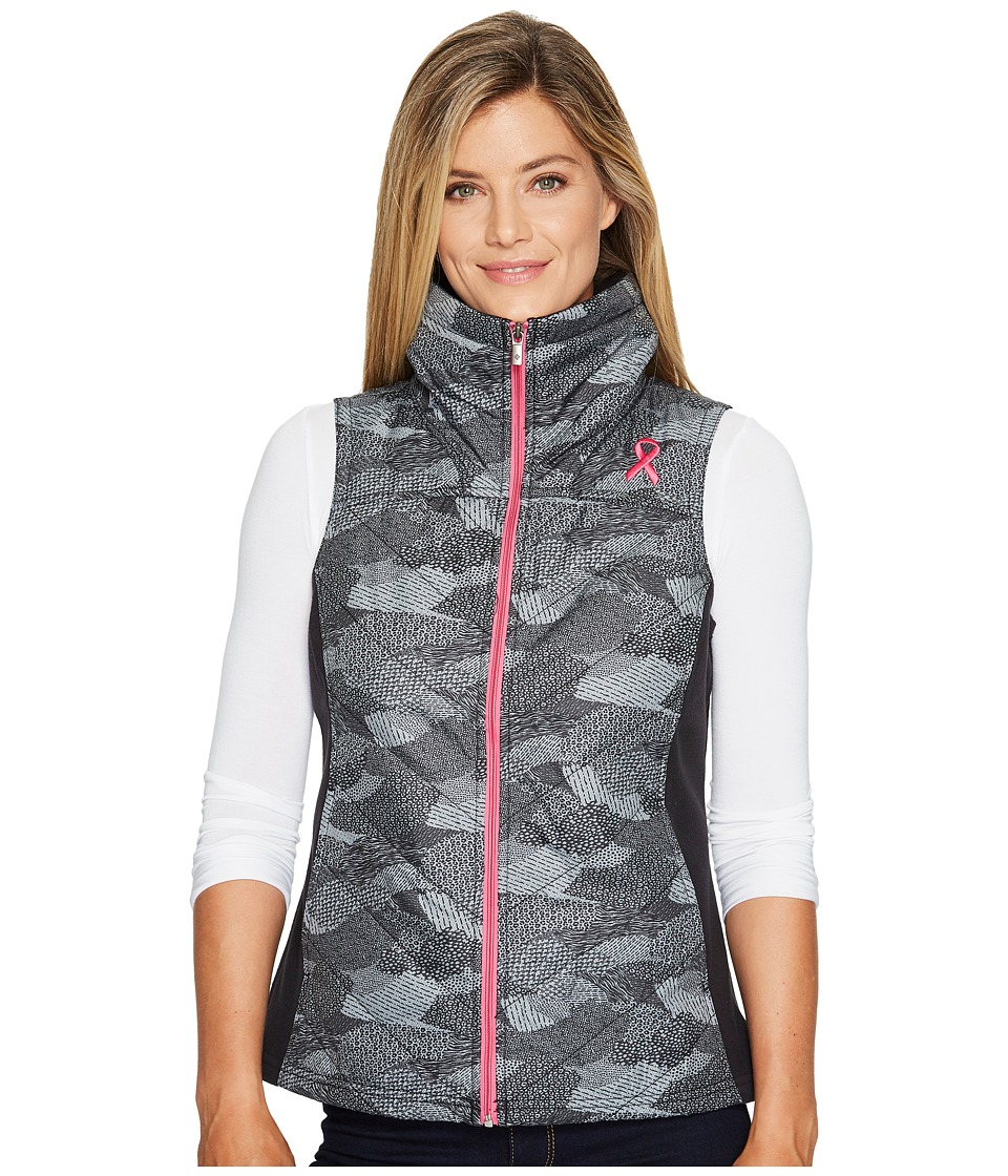 Columbia Tested Tough in Pink Mix It Around Vest (Black Camo) Women