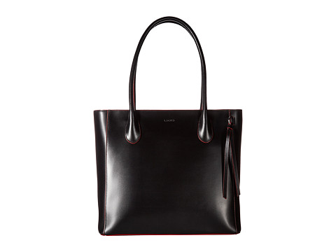 Lodis Accessories Audrey Cecily Satchel - Black/Red