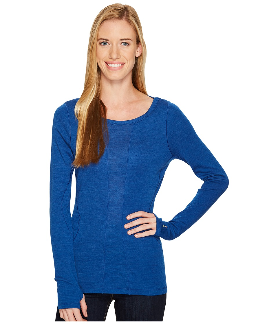 Smartwool PhD(r) Light Long Sleeve Top (Dark Blue) Women