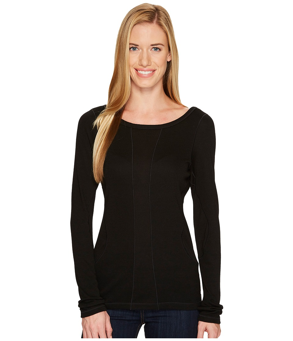 Smartwool PhD(r) Light Long Sleeve Top (Black) Women