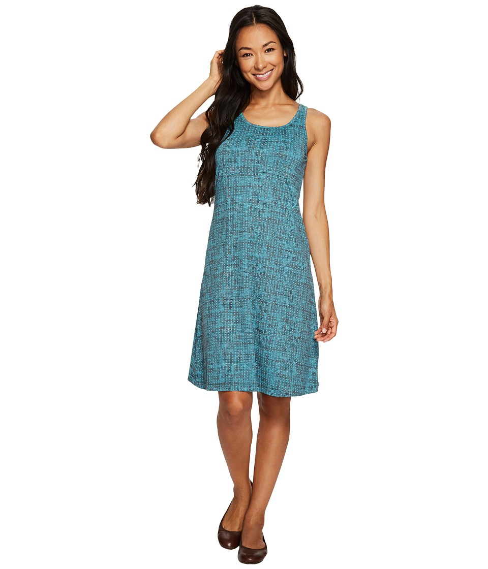 Columbia Freezertm III Dress (Teal Woven Dot Print) Women