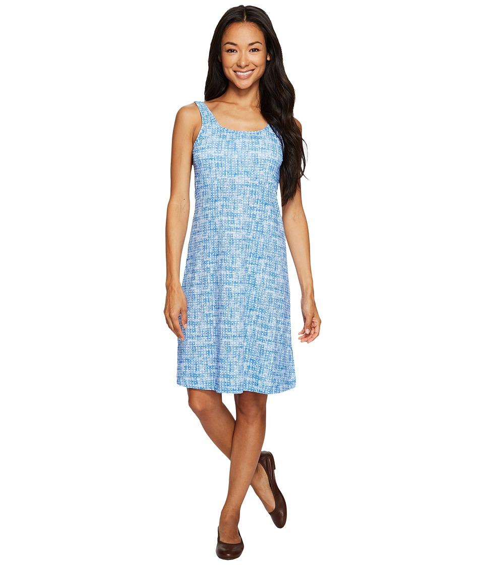 Columbia Freezertm III Dress (Vivid Blue Woven Dot Print) Women