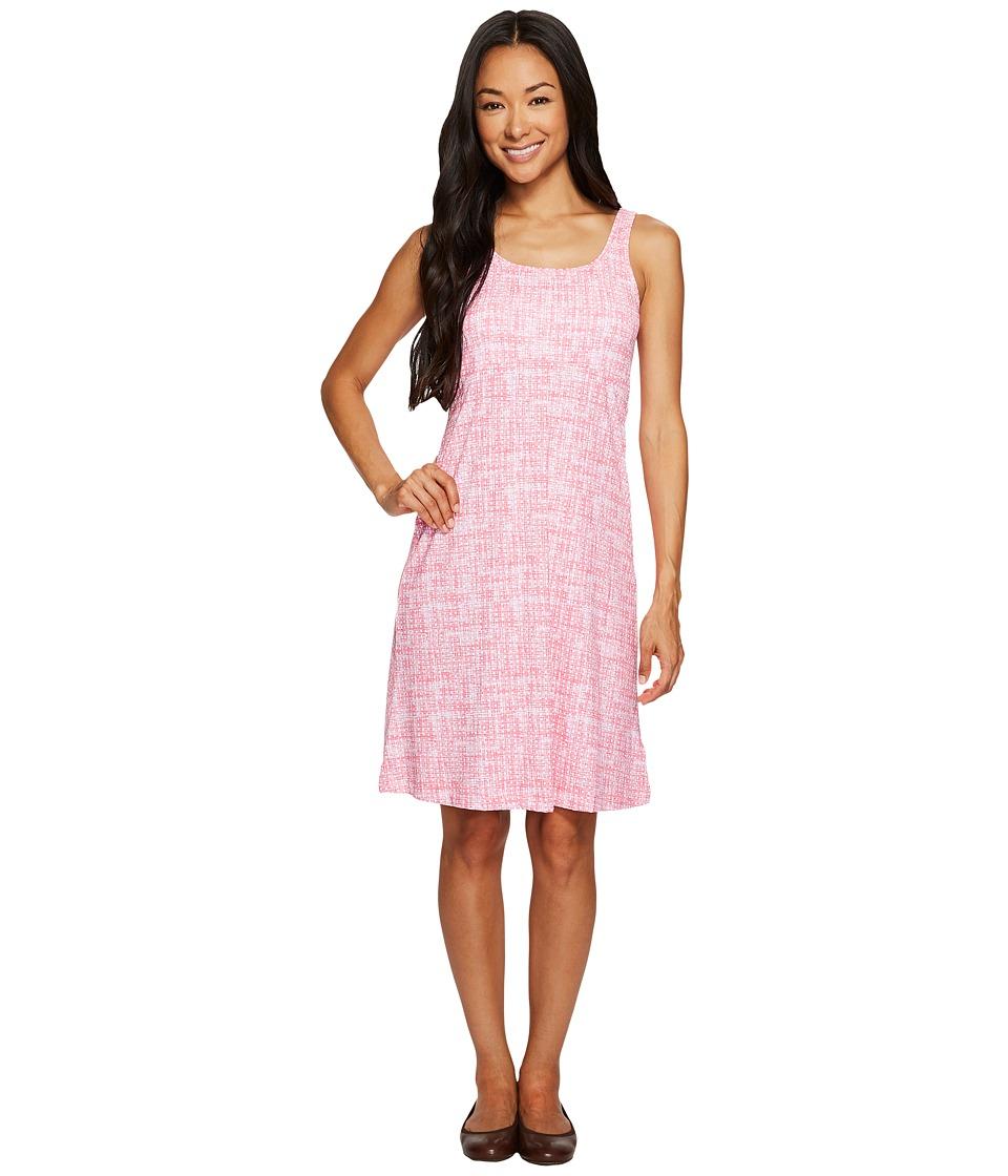 Columbia Freezertm III Dress (Camellia Rose Woven Dot Print) Women