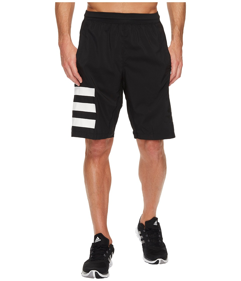 adidas Speedbreaker Icon Shorts (Black/Black) Men