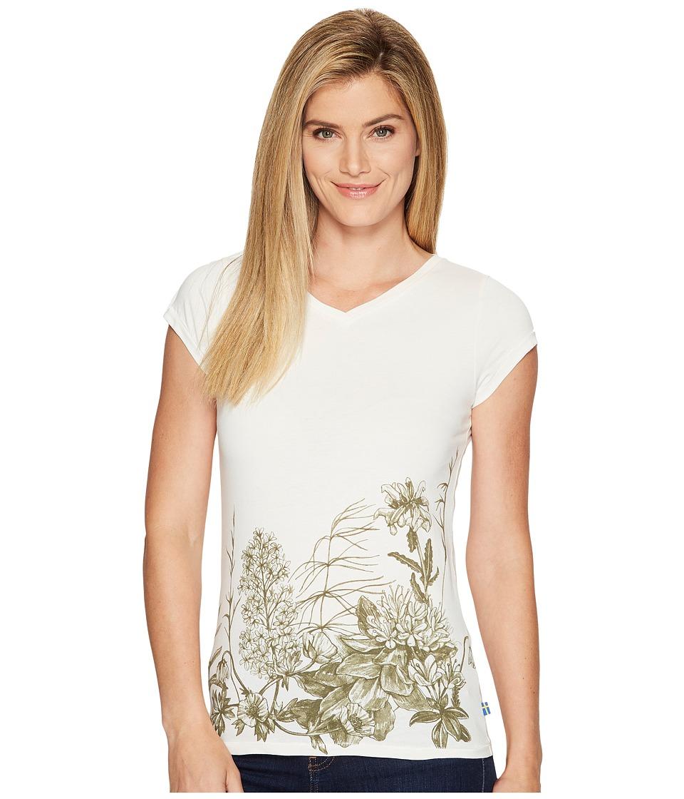 Fjallraven - Meadow Tee (Eggshell) Womens T Shirt