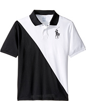 Polo Ralph Lauren Kids - Tech Mesh Banner Polo (Big Kids)