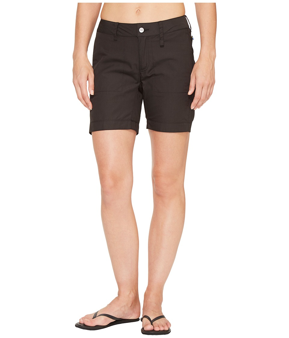 Fjallraven - Abisko Shade Shorts (Dark Grey) Womens Shorts