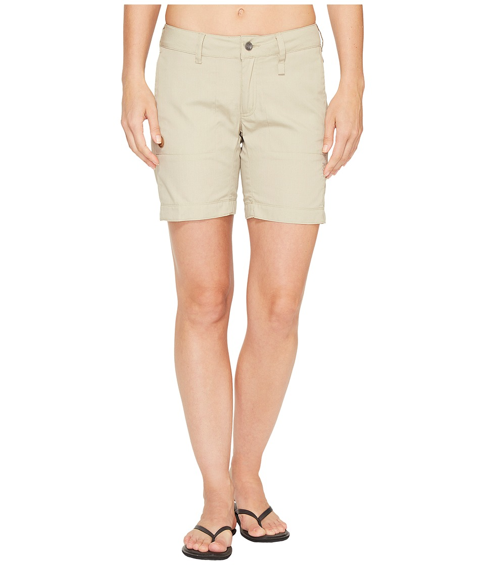 Fjallraven Abisko Shade Shorts (Limestone) Women